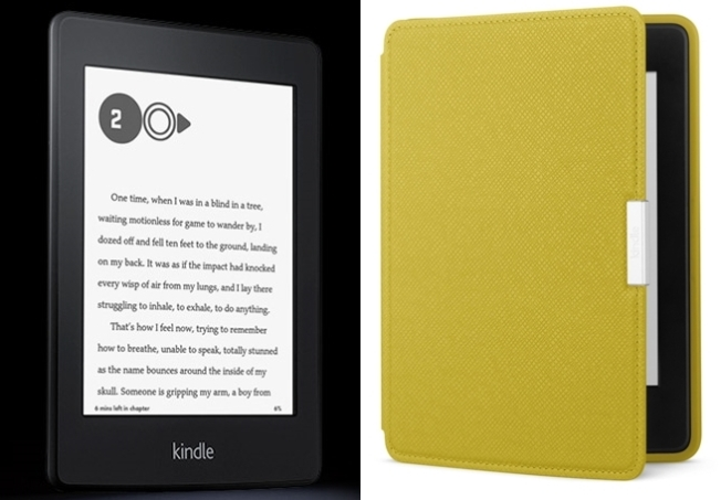 Such a beauty! Kindle Paperwhite & Leather Cover in Honey